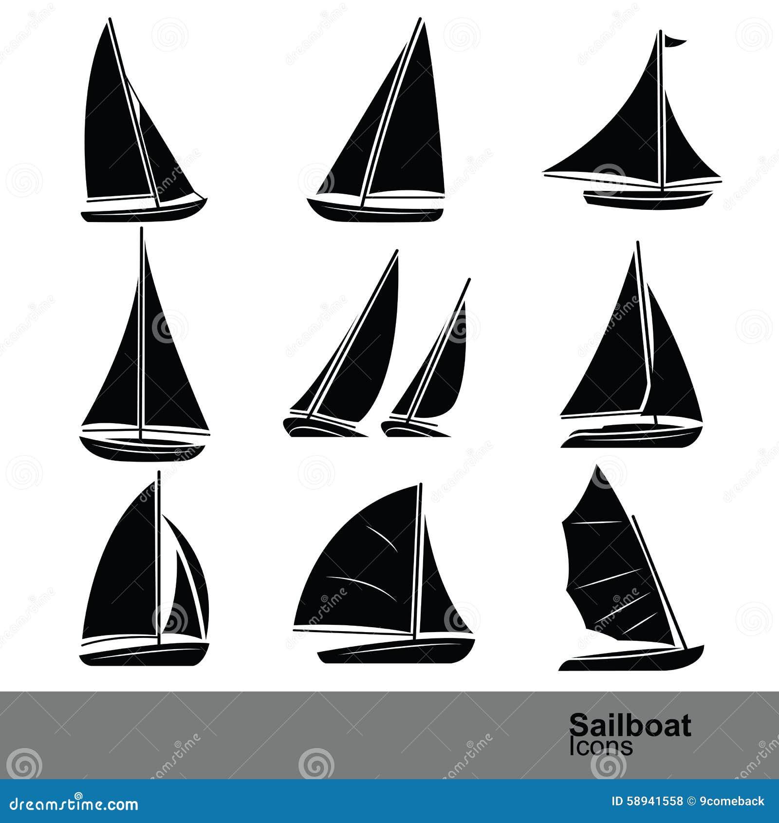 Vetor do veleiro