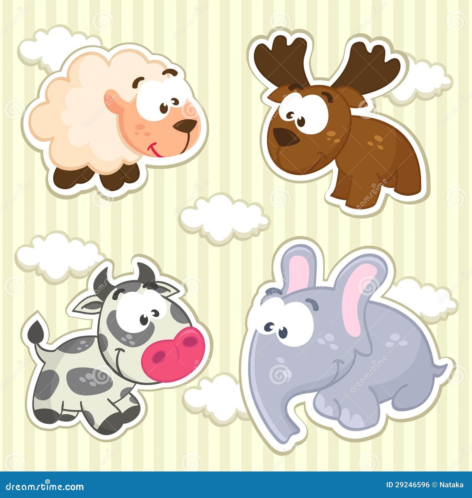 Download Vetor dos animais do ícone ilustração do vetor. Ilustração de vaca - 29246596