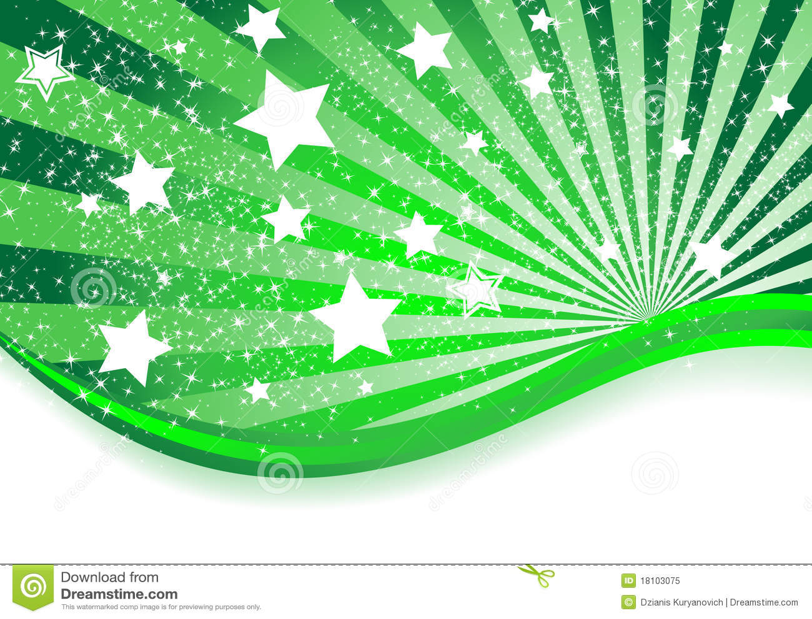 Foto De Stock Royalty Free Vetor Fundo Verde Abstrato