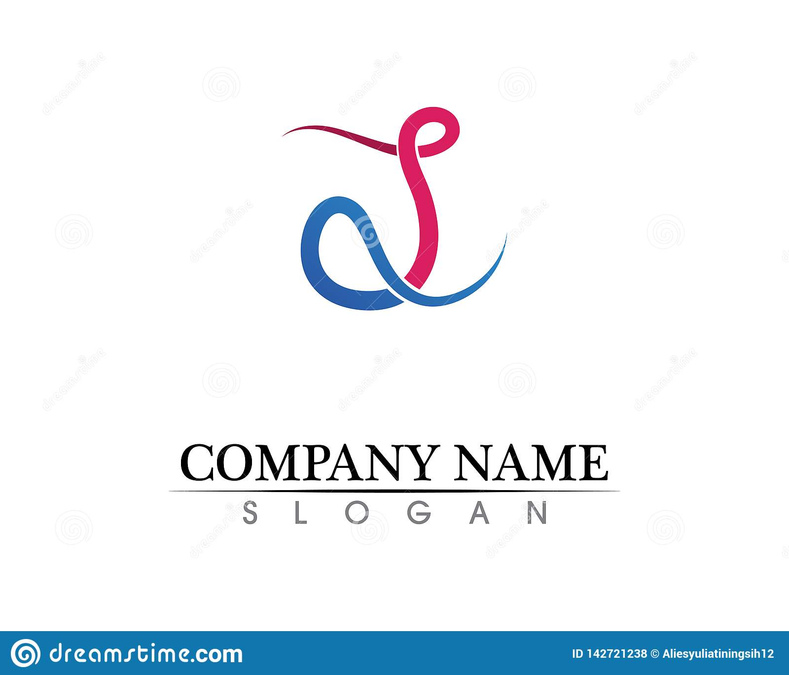 Vetor incorporado do projeto do logotipo da letra P do negócio