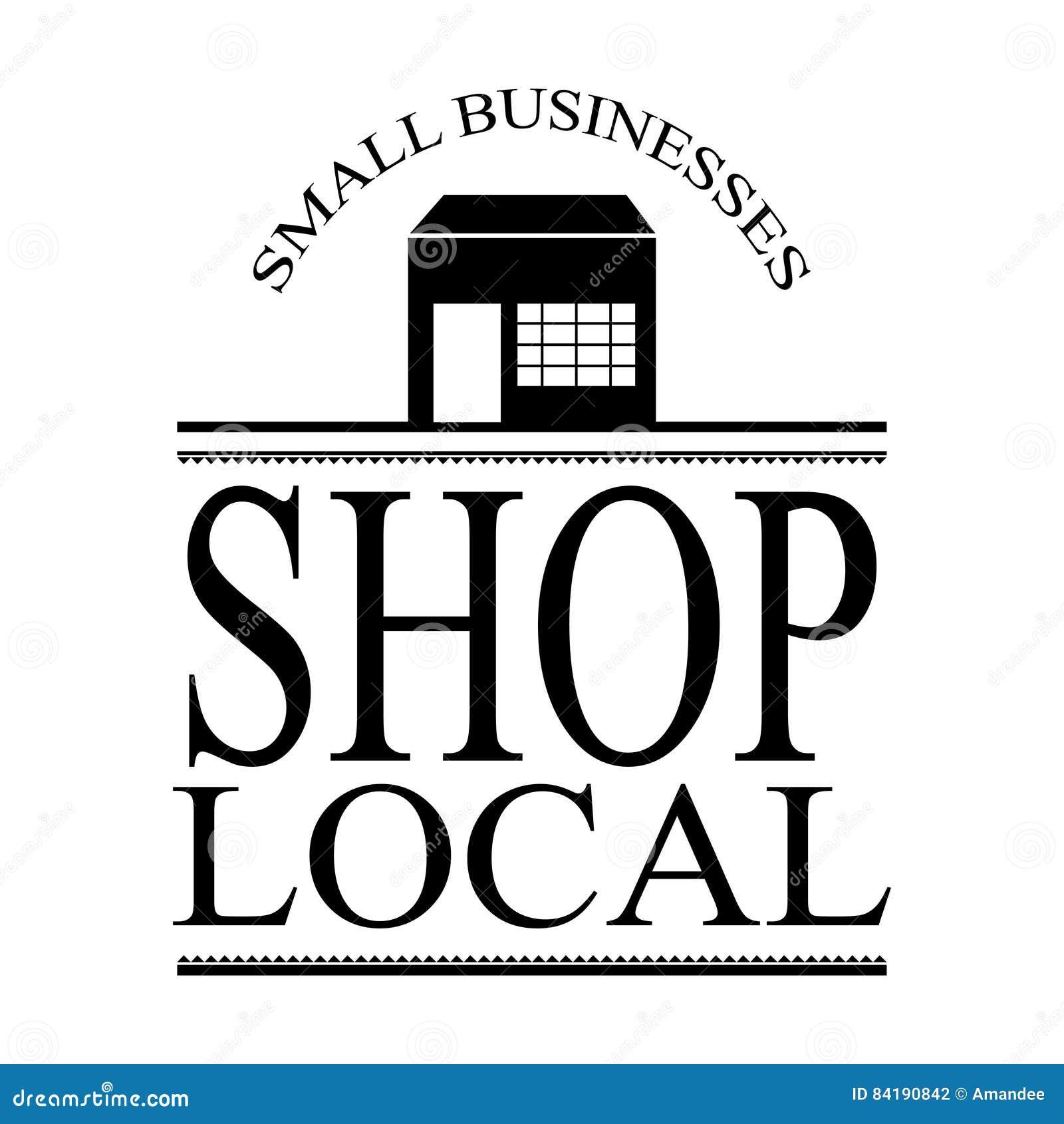 Vetor local pequeno do sinal do negócio com construção e quadro