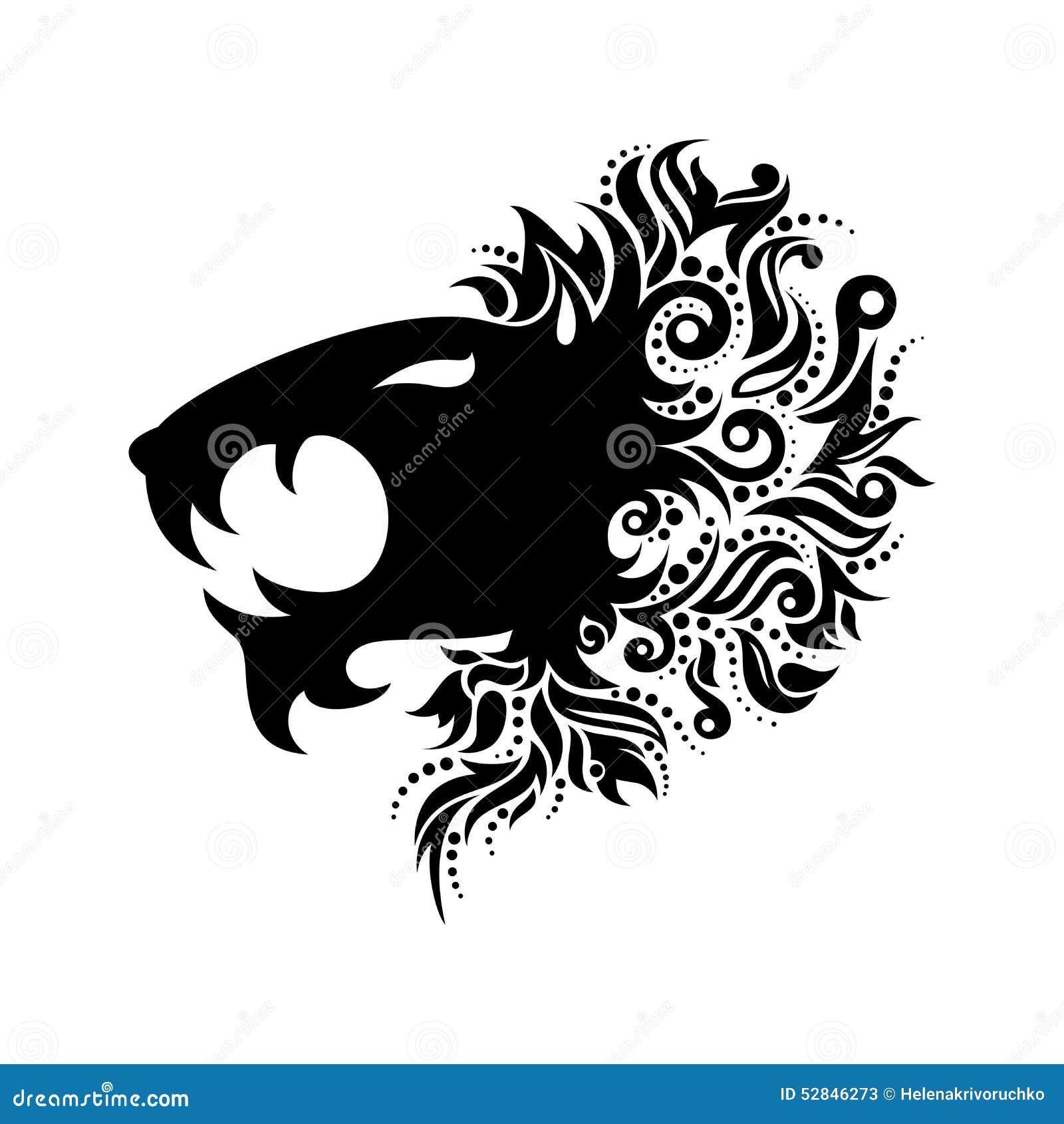 Vetor Logo Lion Head
