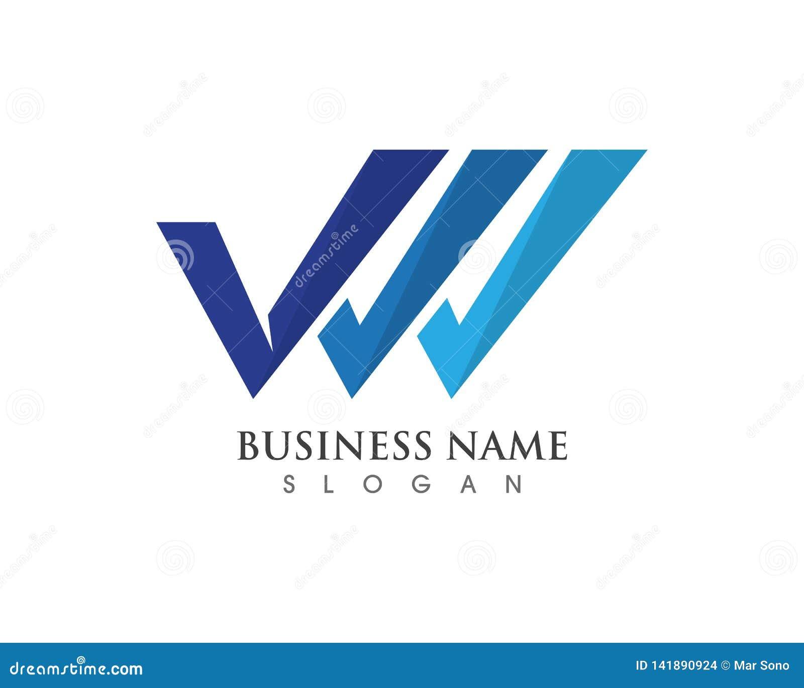 Vetores do logotipo e do símbolo de V