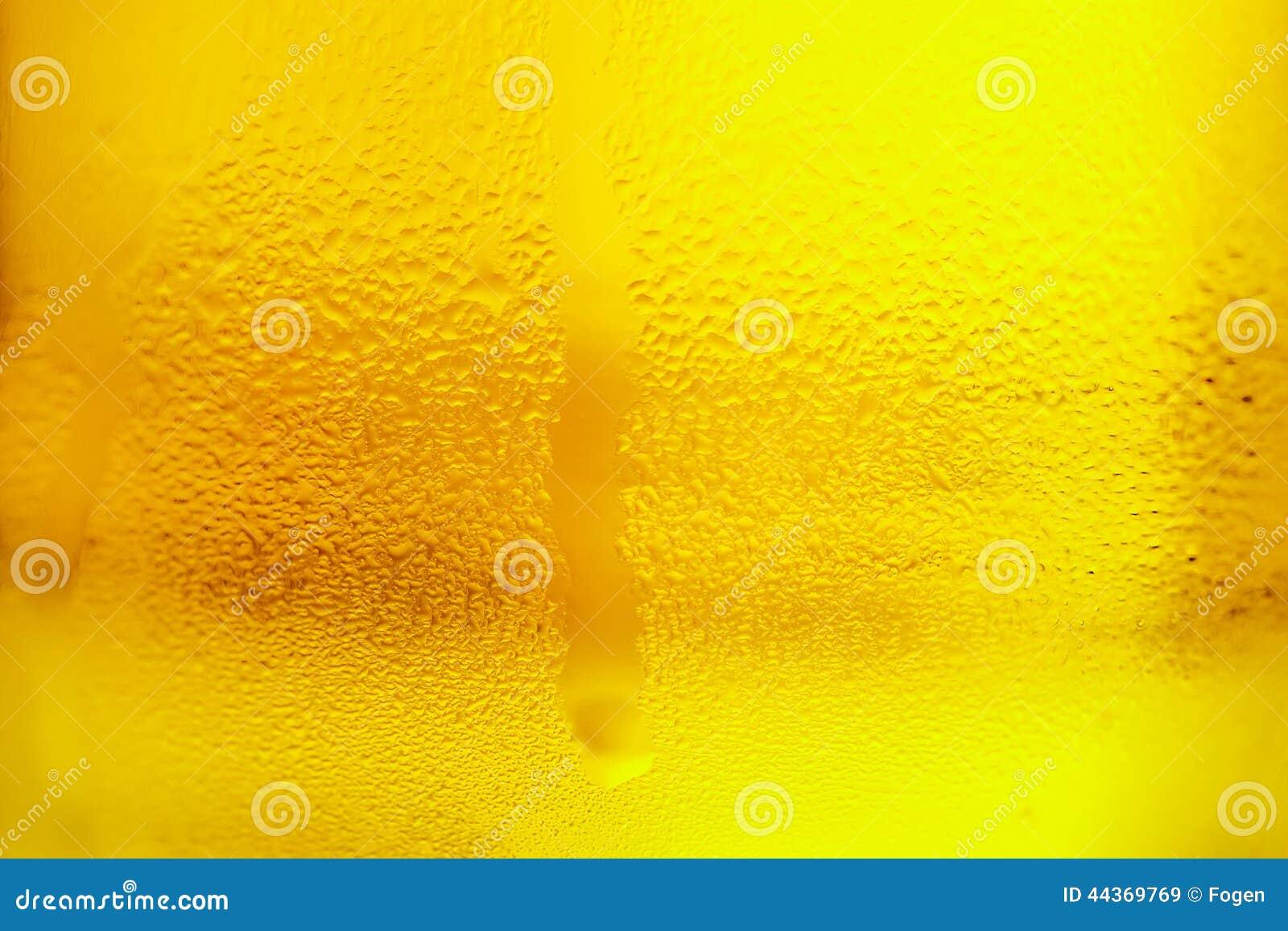 Vetro di birra fredda