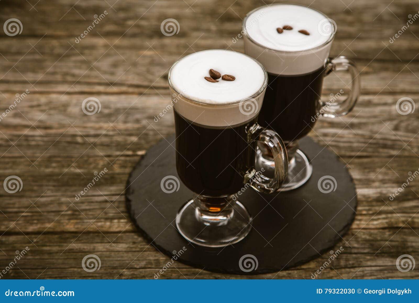 Vetro di irish coffee