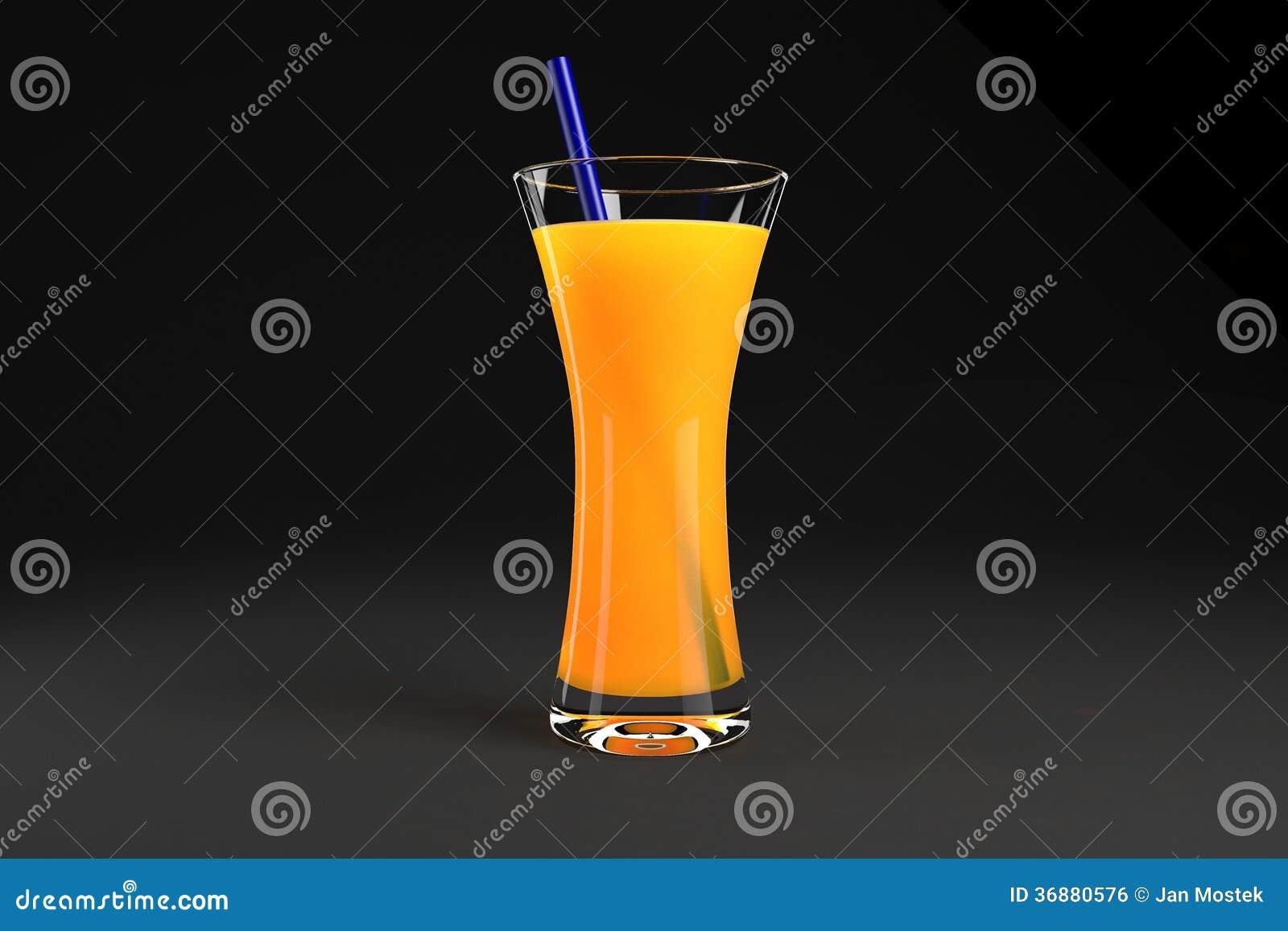 Download Vetro di succo fotografia stock. Immagine di bevanda - 36880576