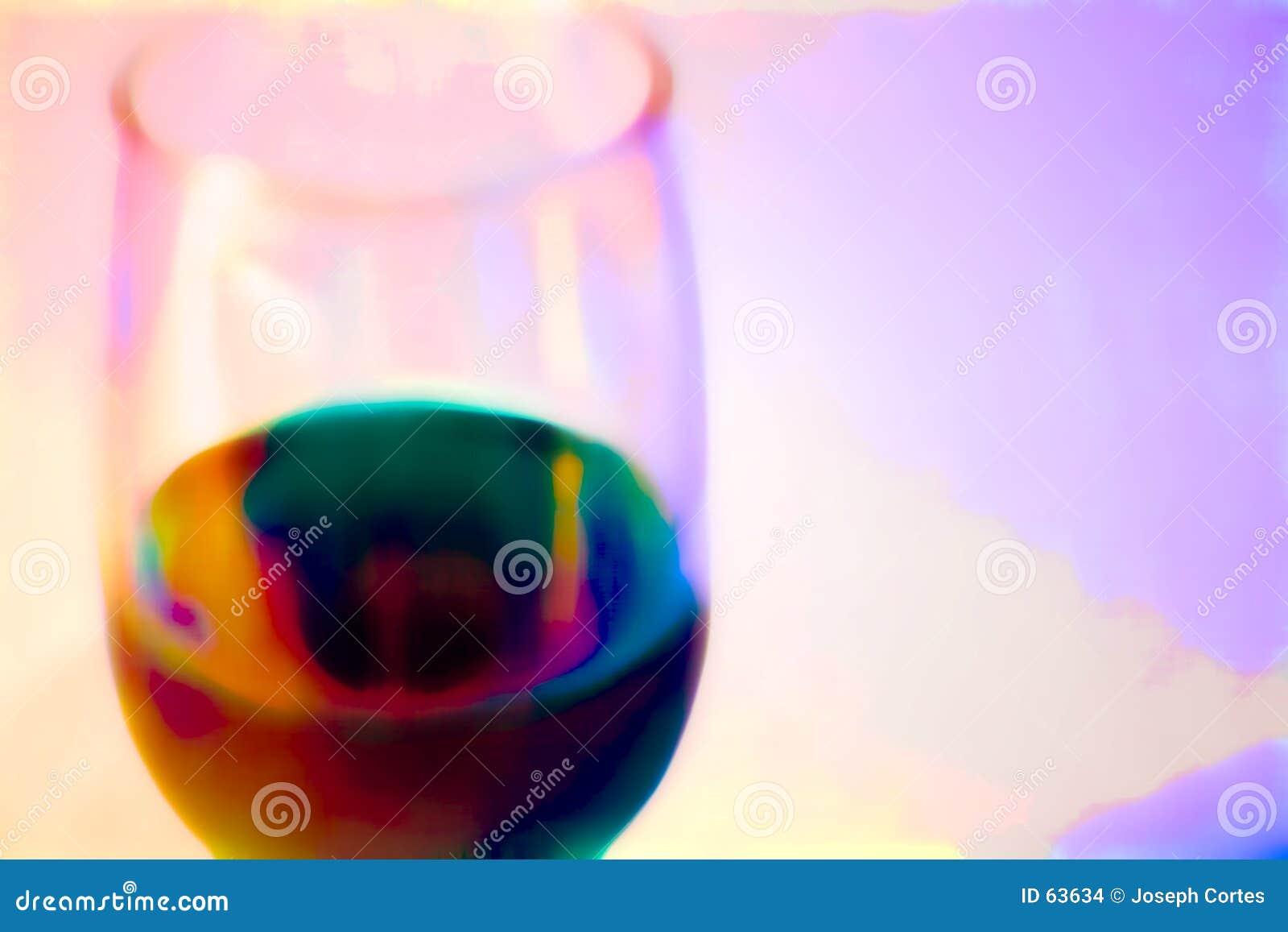 Vetro di vino lunatico
