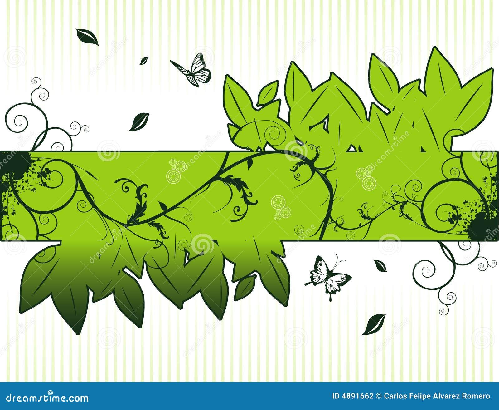 Illustrazione astratta floreale della composizione in vettore