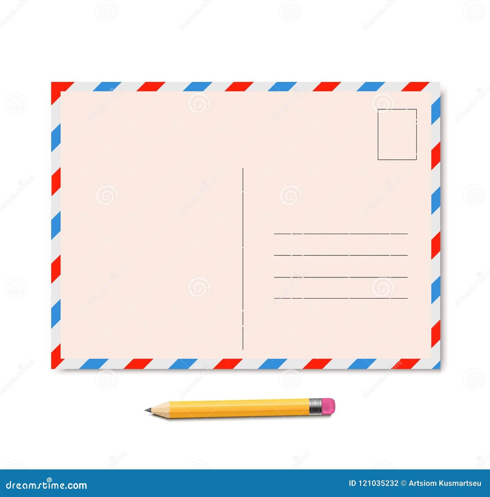 Vettore d annata della cartolina