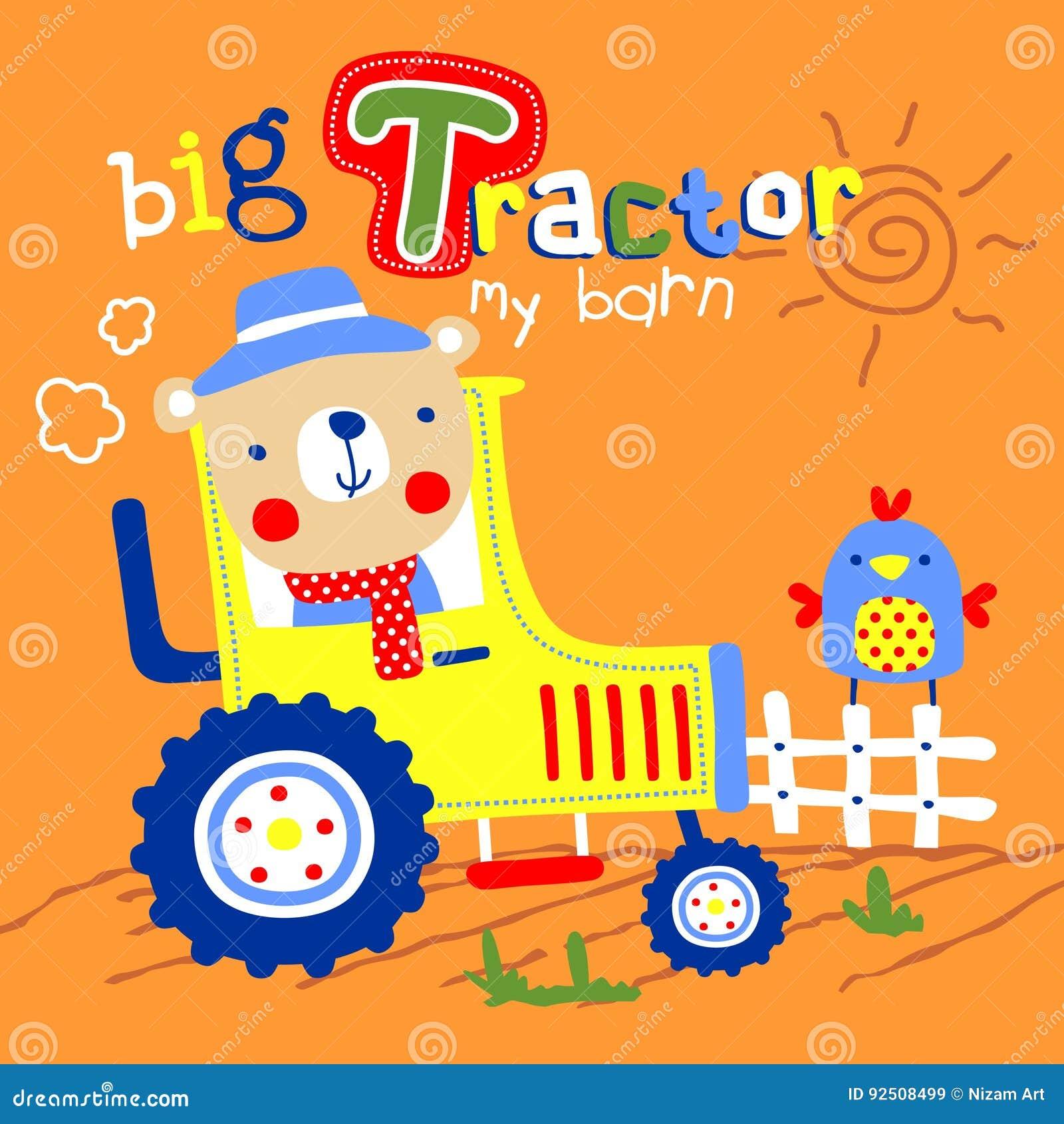 Vettore del trattore