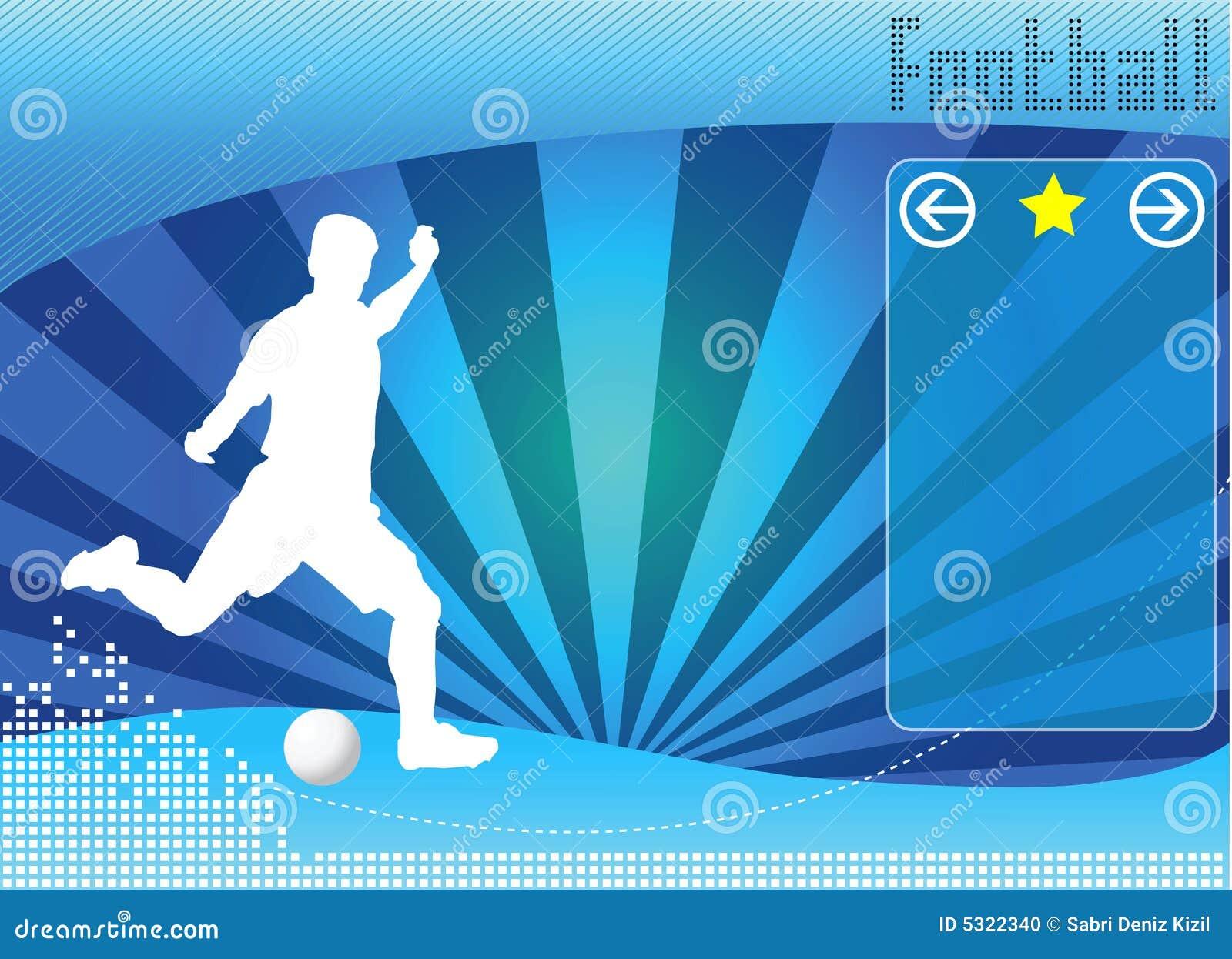 Download Vettore Della Priorità Bassa Di Concetto Di Calcio Illustrazione Vettoriale - Illustrazione di scossa, telaio: 5322340