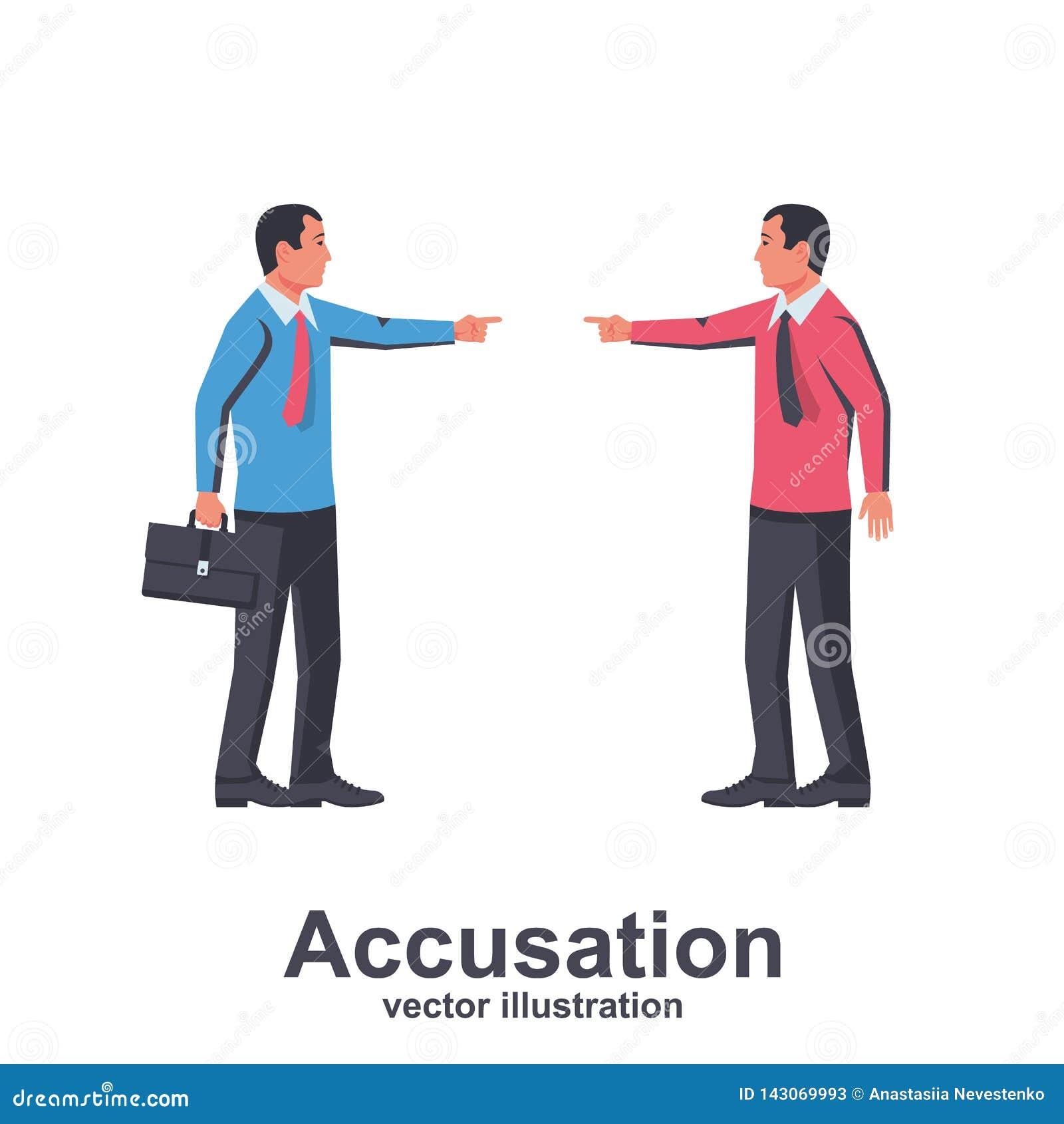 Vettore di concetto di accusa