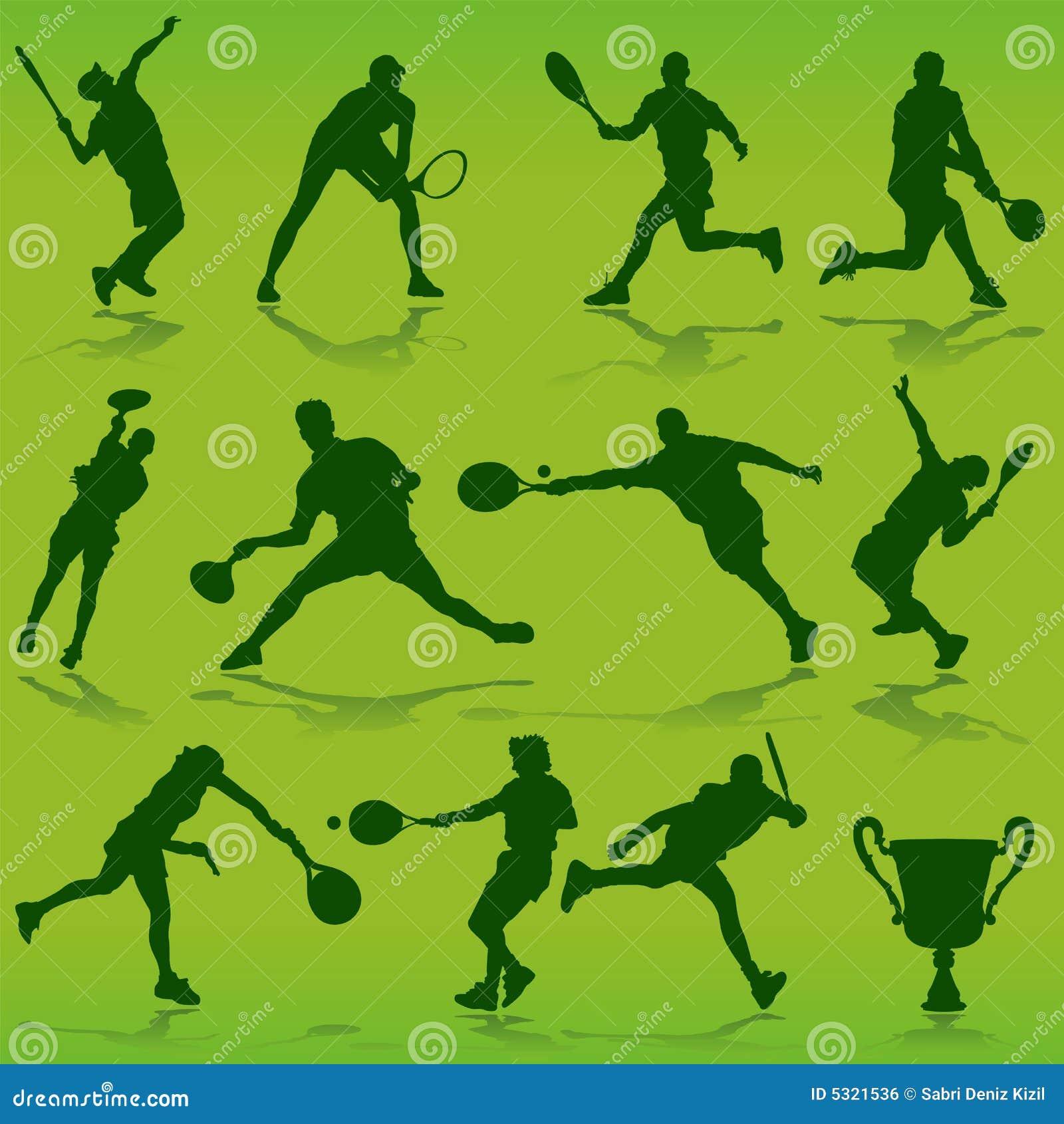 Download Vettore di tennis illustrazione vettoriale. Illustrazione di grafico - 5321536