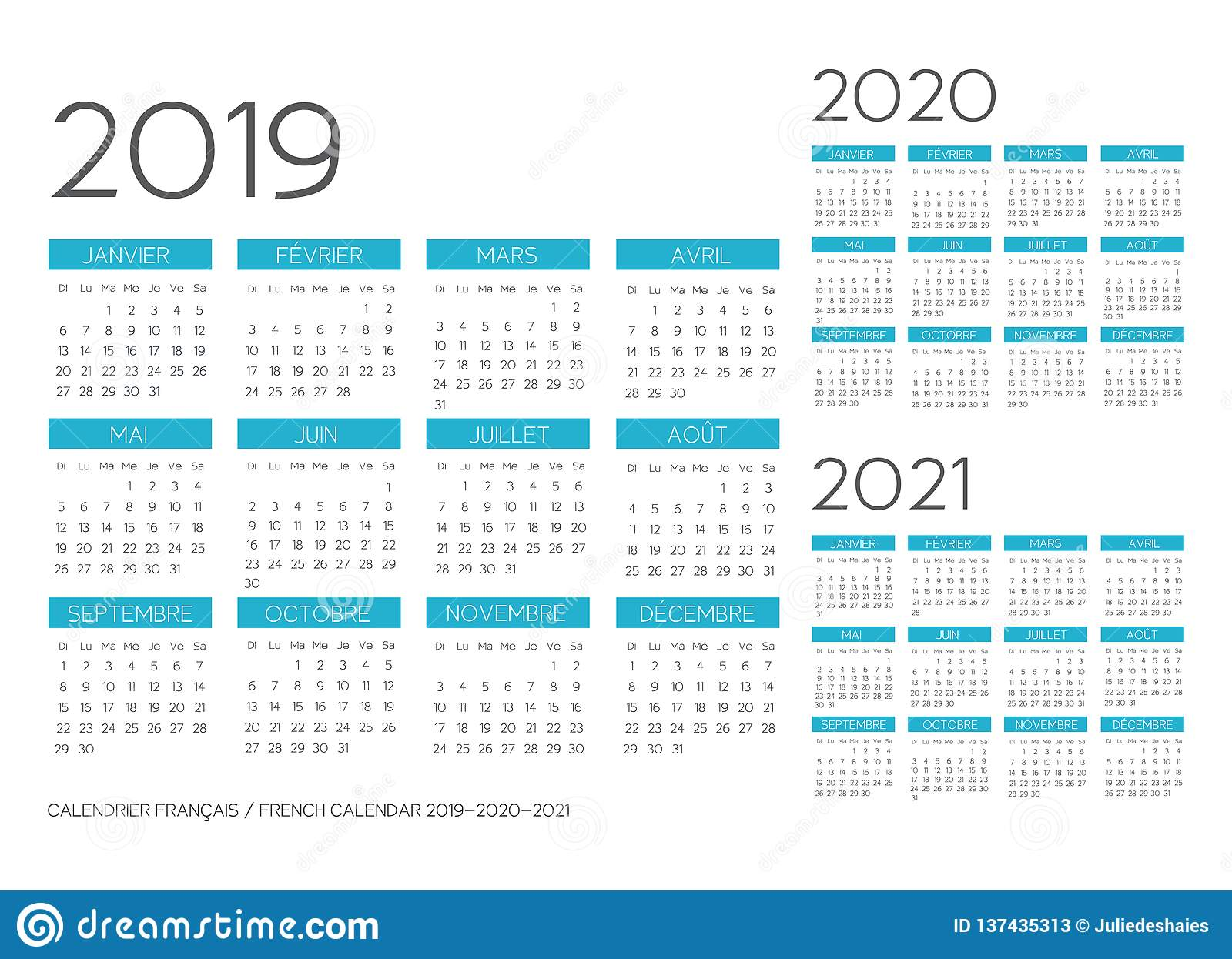 Calendario Castellina Pasi.Calendario Francese 2020