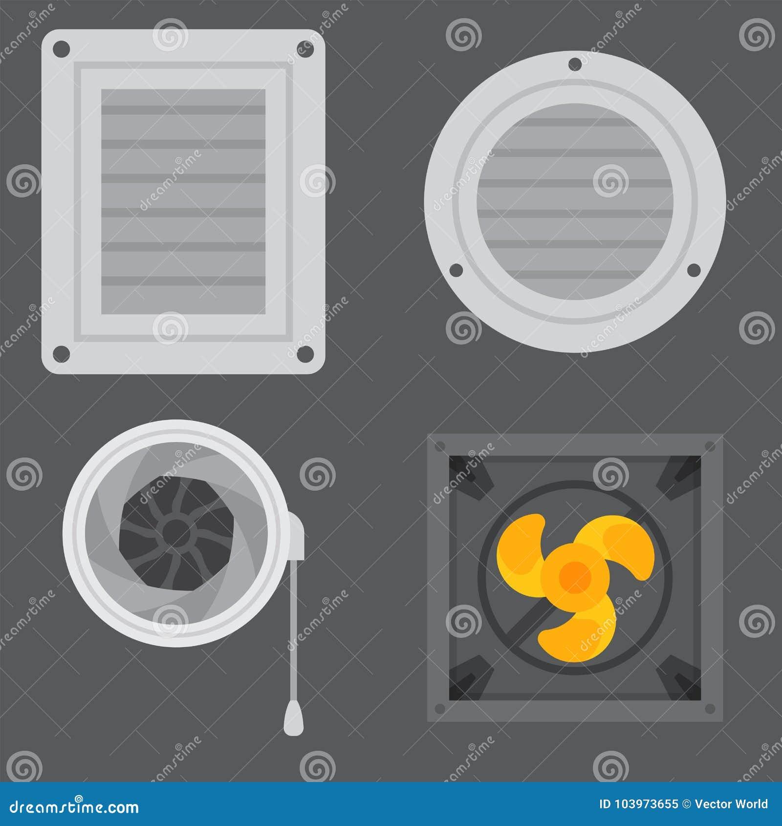 Vettore fresco di condizionamento di temperatura di tecnologia del fan di clima del ventilatore dell attrezzatura di sistemi dell