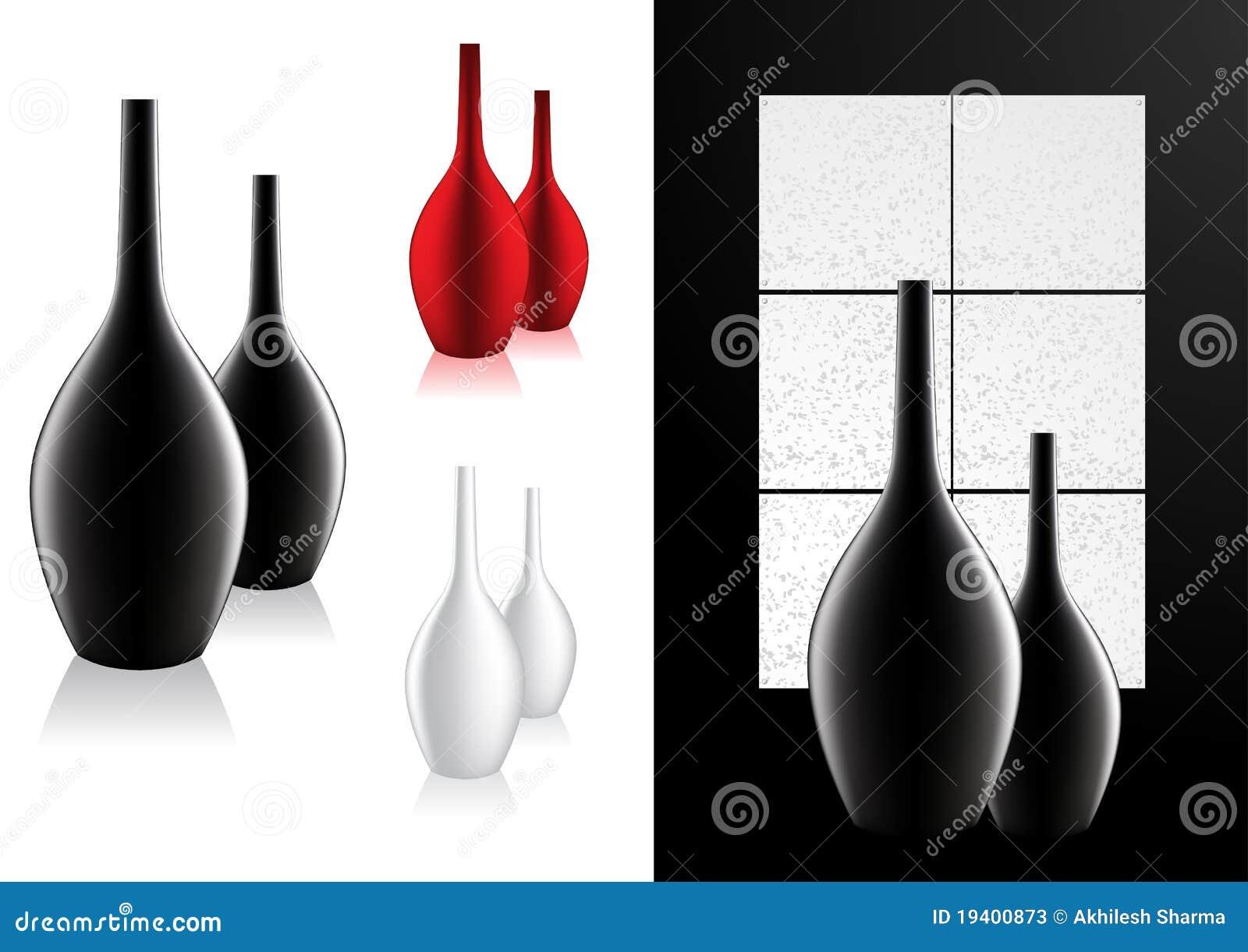 Vettore moderno del vaso della decorazione domestica for Software di progettazione domestica moderna
