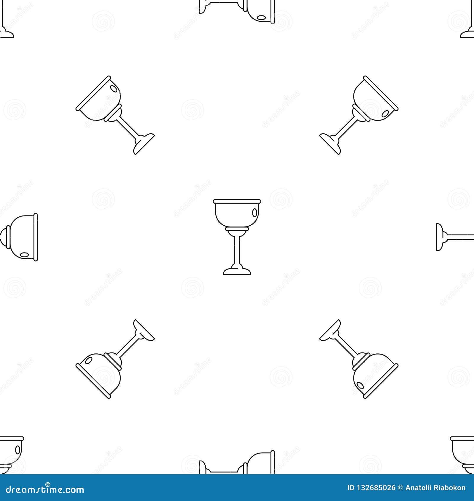 Vettore senza cuciture del modello ebreo della tazza