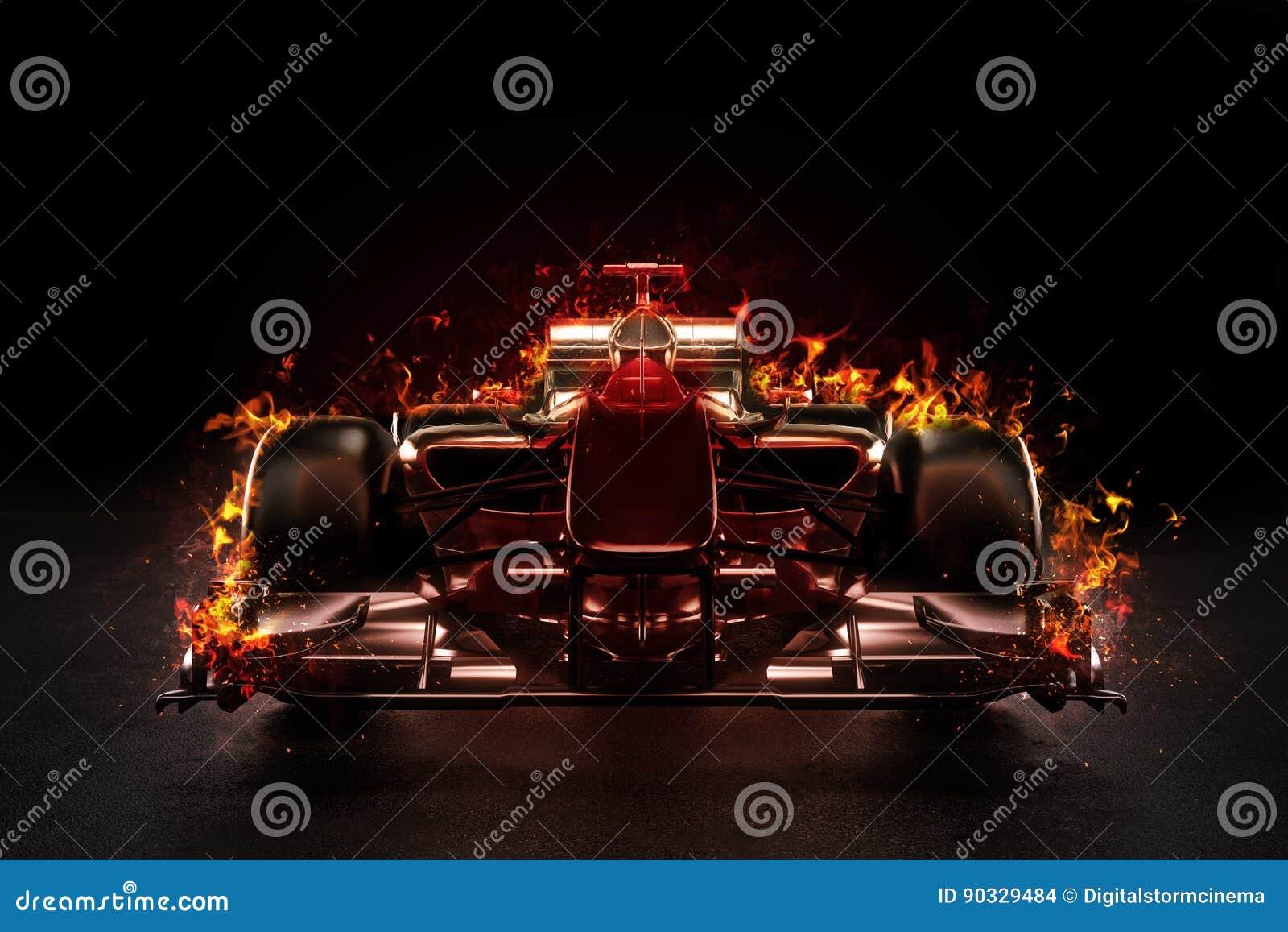 Vettura da corsa calda di sport di motore del gruppo con