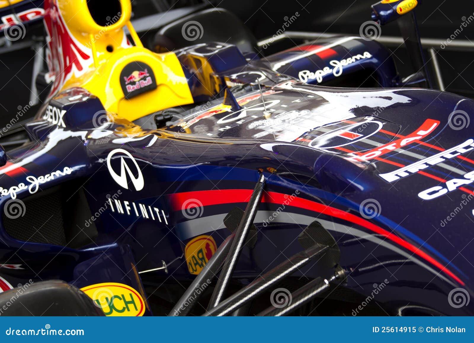 Vettura da corsa di Red Bull RB7 F1