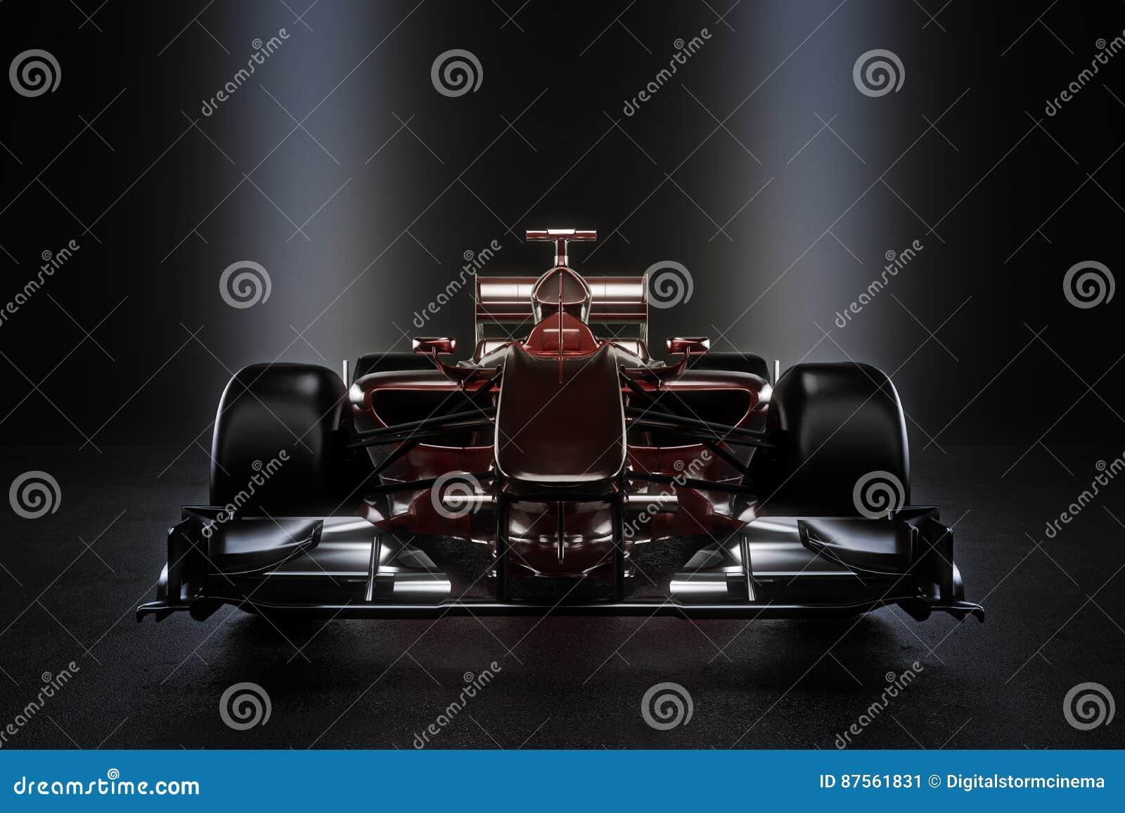 Vettura da corsa lucida di sport di motore del gruppo con