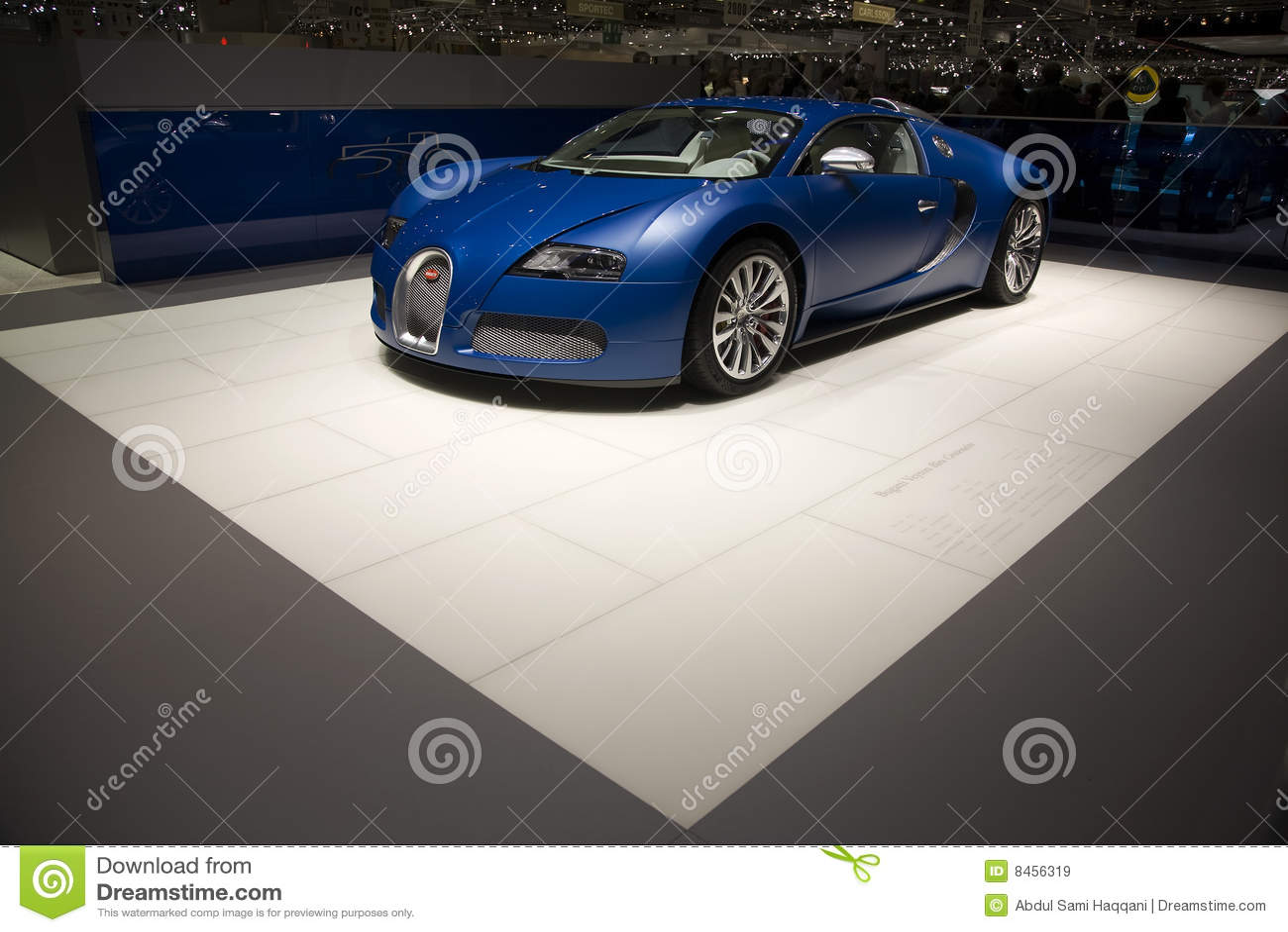 Veyron 2009 för bugatticentenairegeneva motorshow