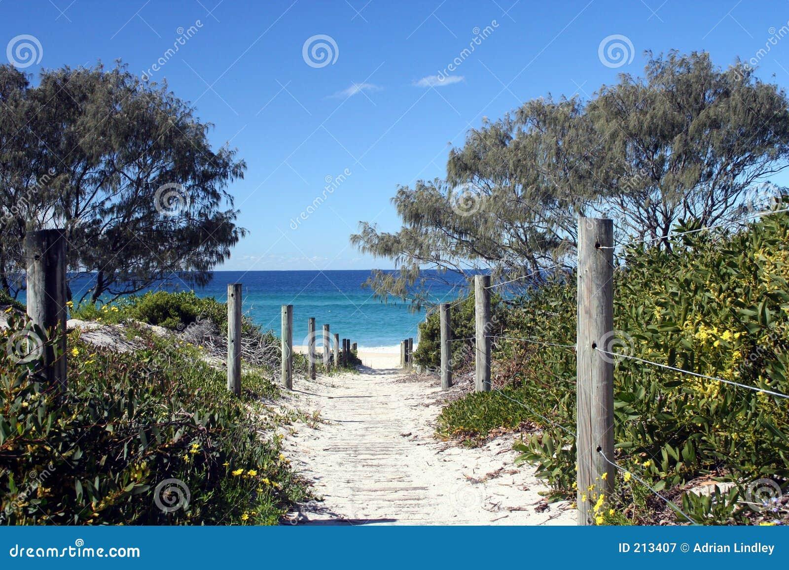 Via alla spiaggia