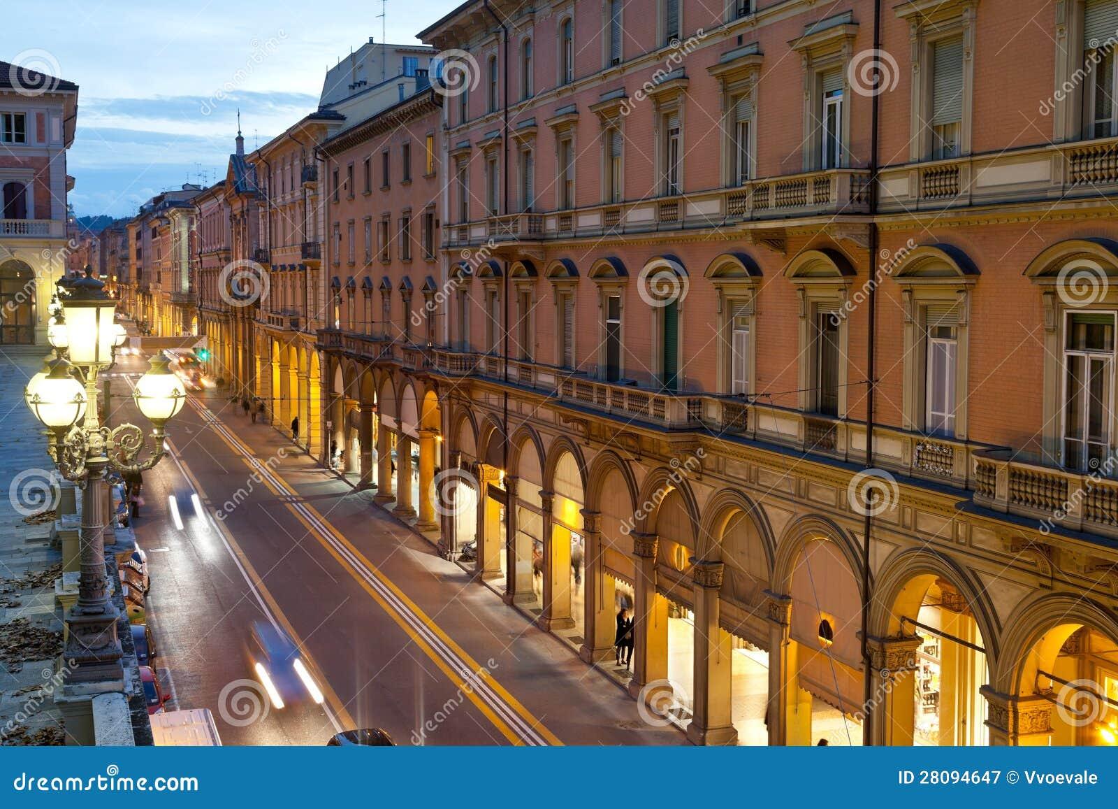 Via dell indipendenza in bologna italy stock image for Bershka via indipendenza bologna