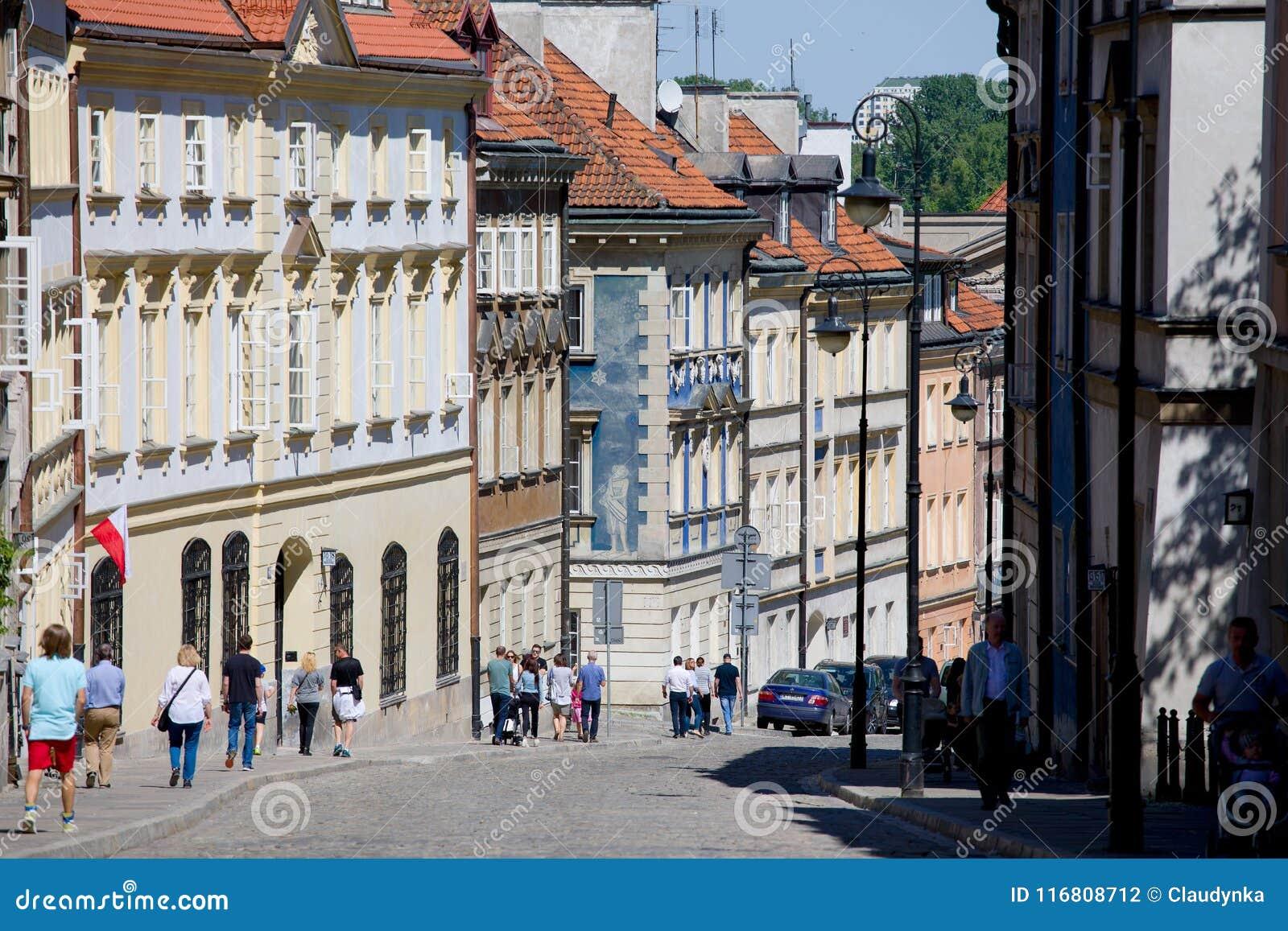 Via di Mostowa a Varsavia