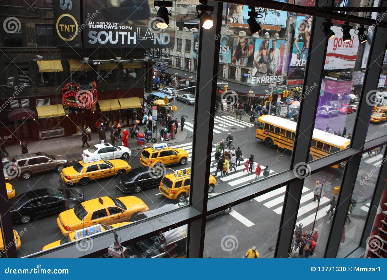 Via di new york immagine editoriale immagine di tass for Finestra new york