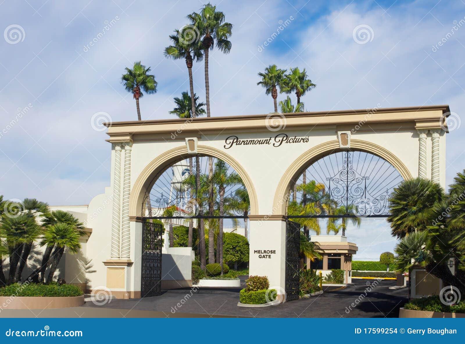 Via principal dos estúdios de Paramount