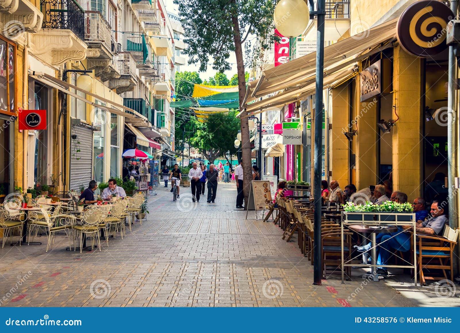 Via tipica a Nicosia, Cipro