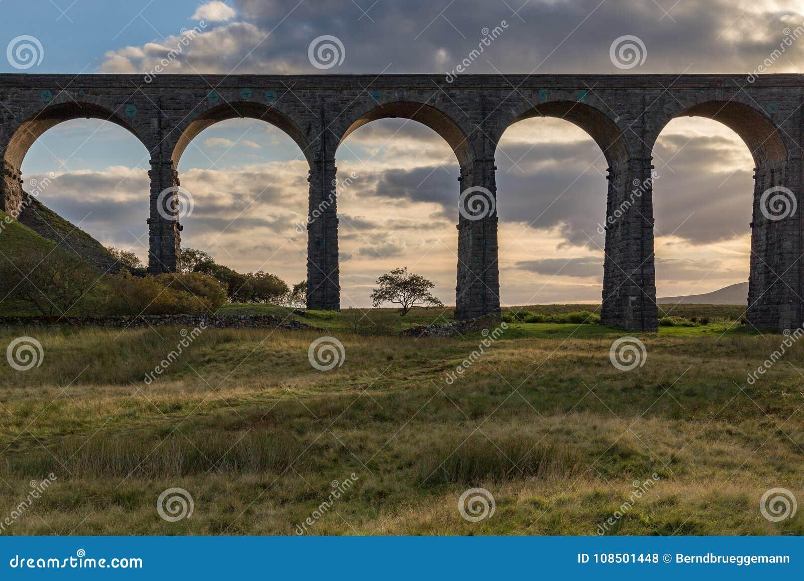 Viadotto di Ribblehead, North Yorkshire, Regno Unito