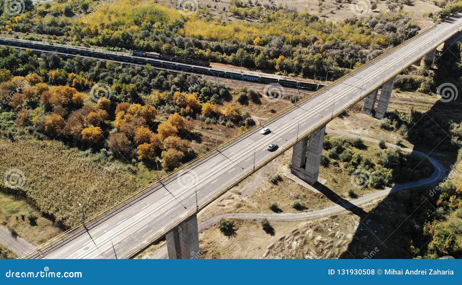 Viaduc - taille Galati Roumanie de 300m