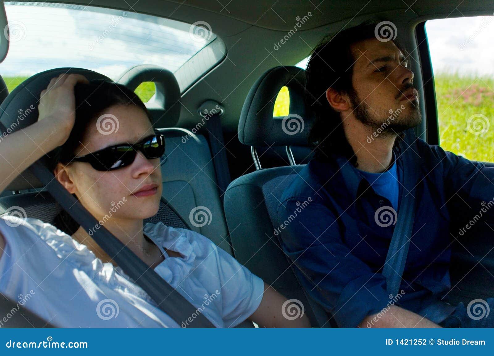 Viagem por estrada de relaxamento