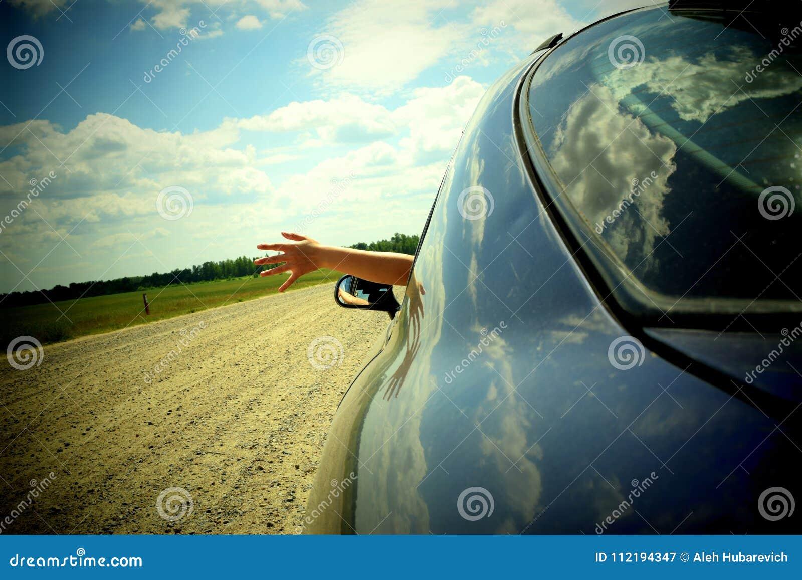 Viaggiando in macchina
