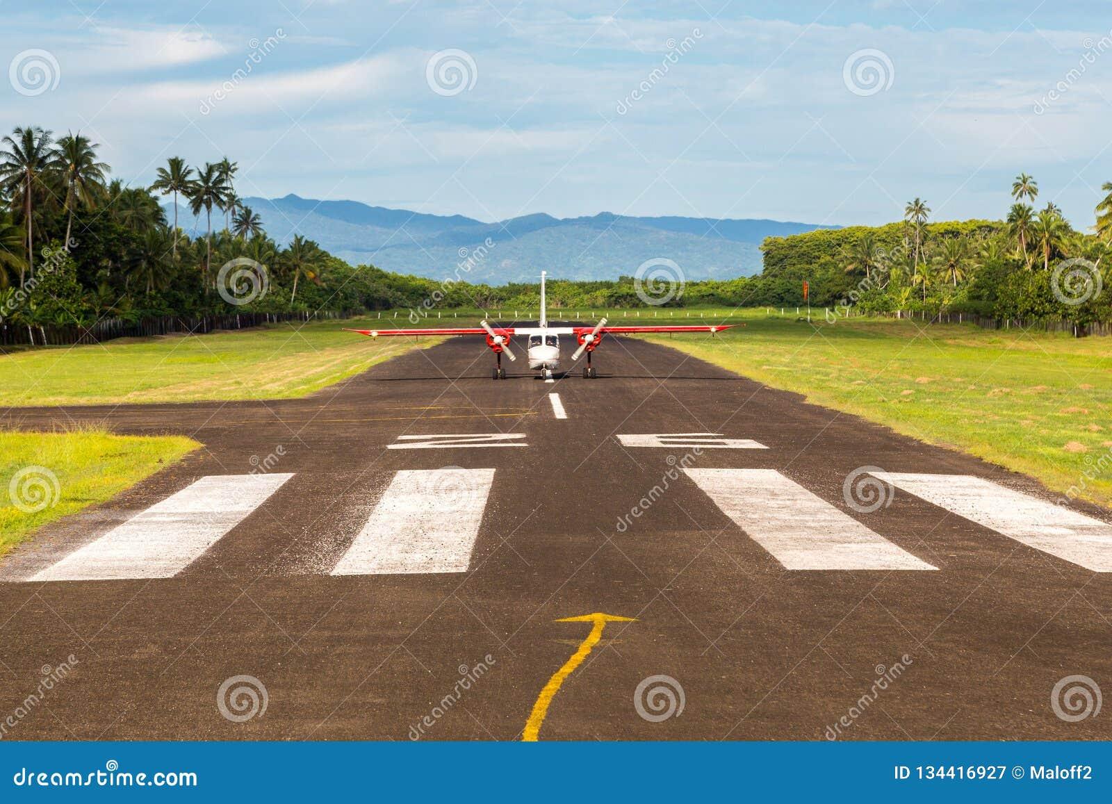 Viaggio æreo in Figi, Melanesia, Oceania E r