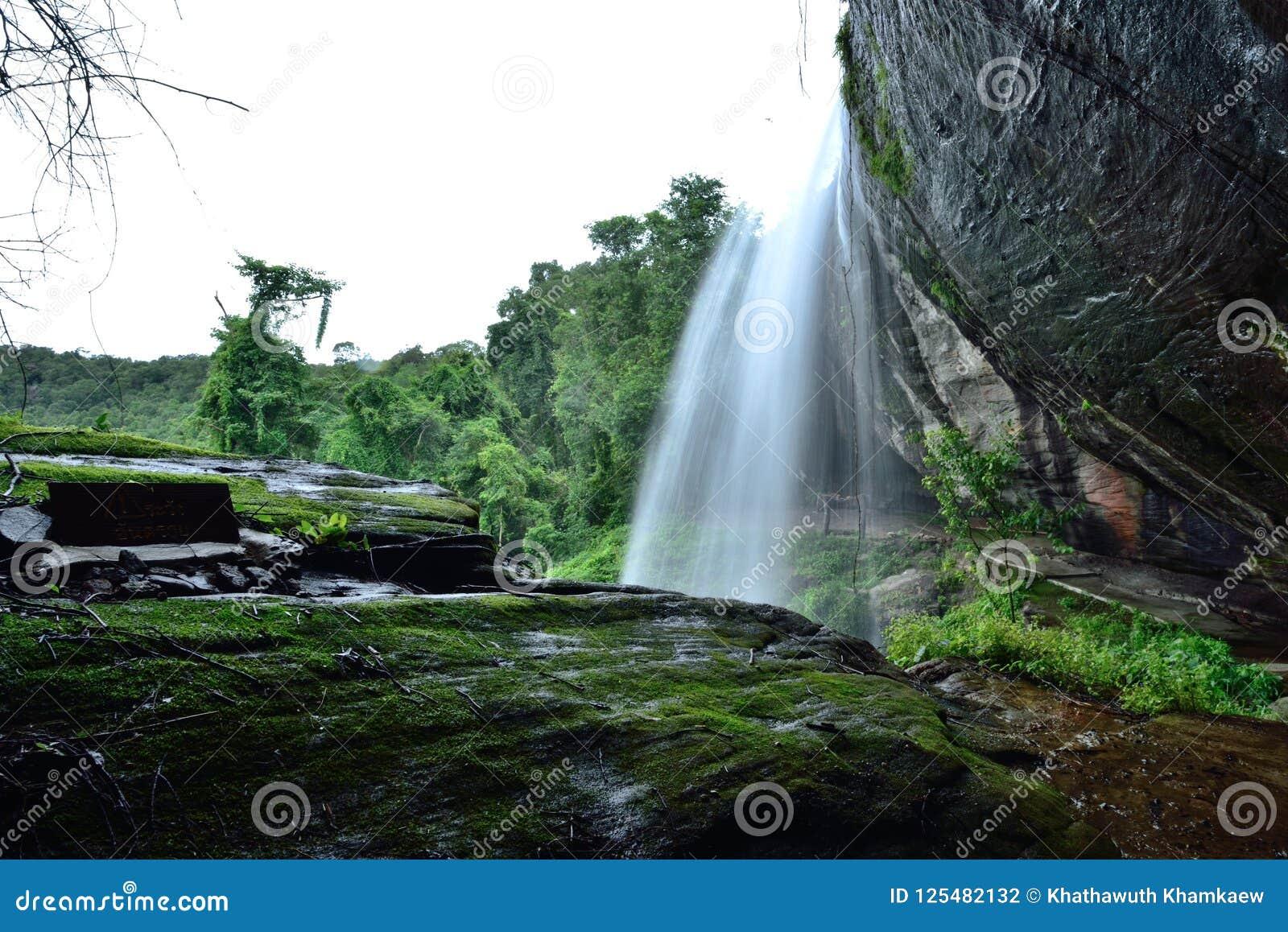 Viaggio della cascata in Tailandia
