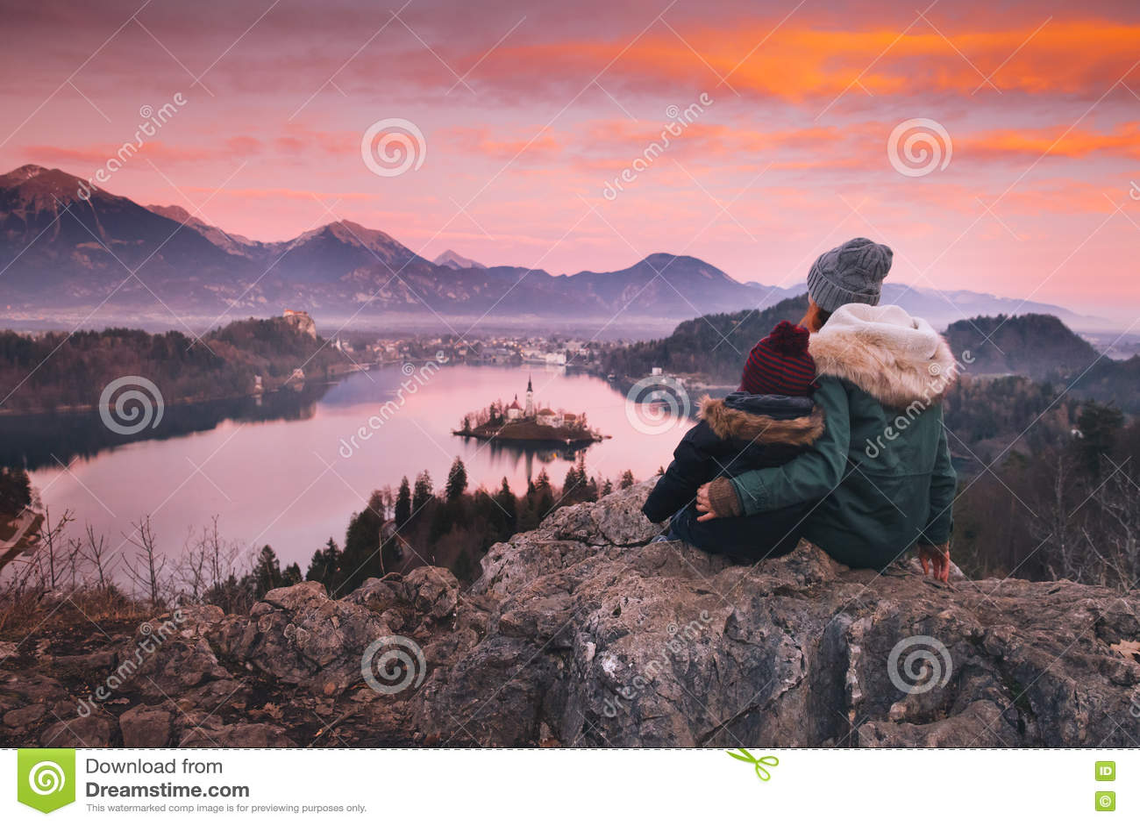 Viaggio Europa della famiglia Lago sanguinato, Slovenia