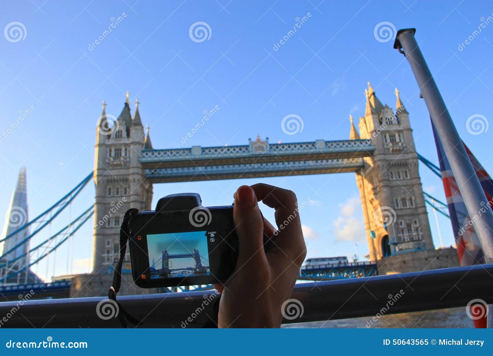 Viajando en Londres, fotografía