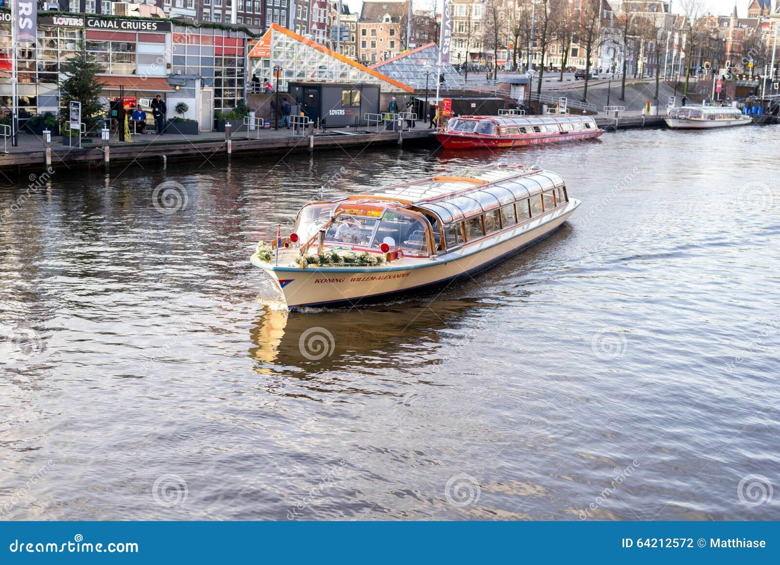 Viaje al barco en Amsterdam