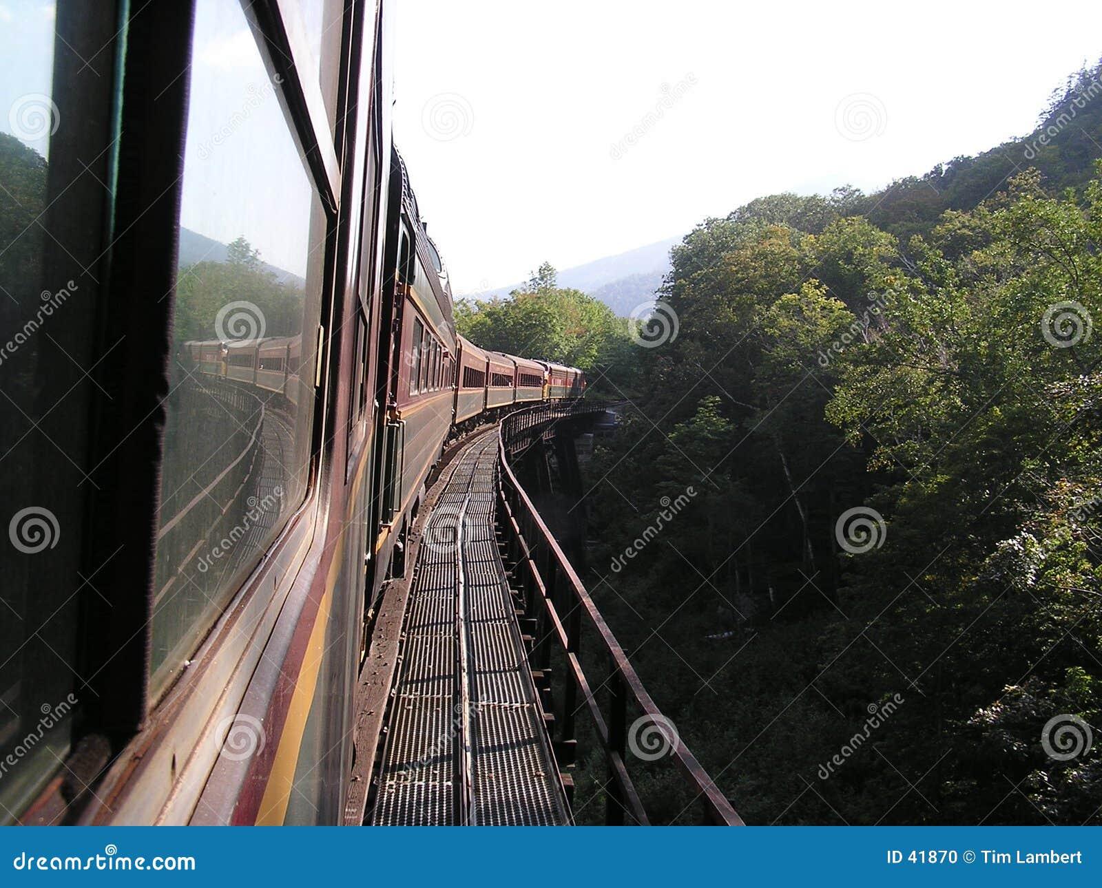 Download Viaje del tren foto de archivo. Imagen de montaña, tren - 41870