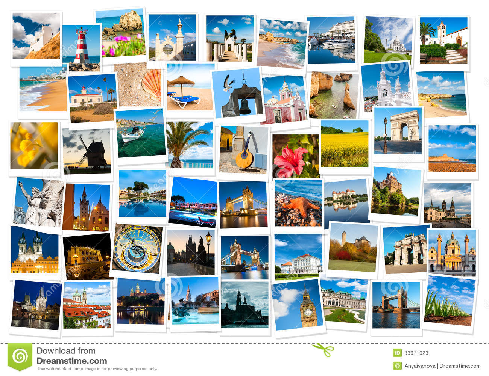 viaje en el collage de europa imagen de archivo imagen de daylight im genes 33971023. Black Bedroom Furniture Sets. Home Design Ideas