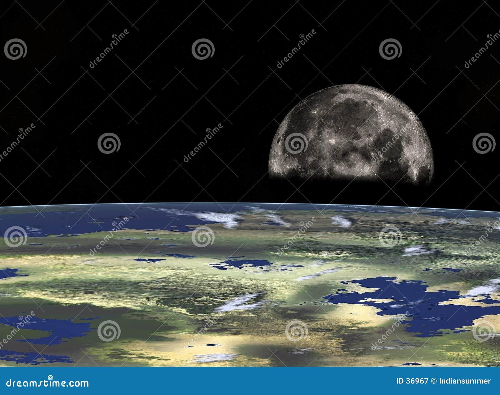 Download Viaje espacial stock de ilustración. Ilustración de artístico - 36967