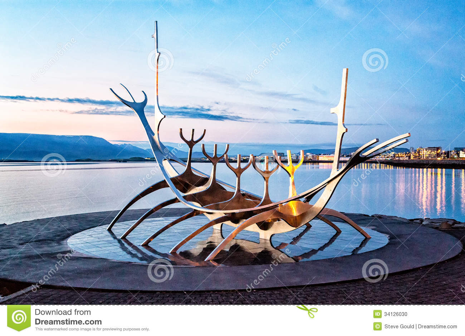 Viajero de Sun, Reykjavik, Islandia