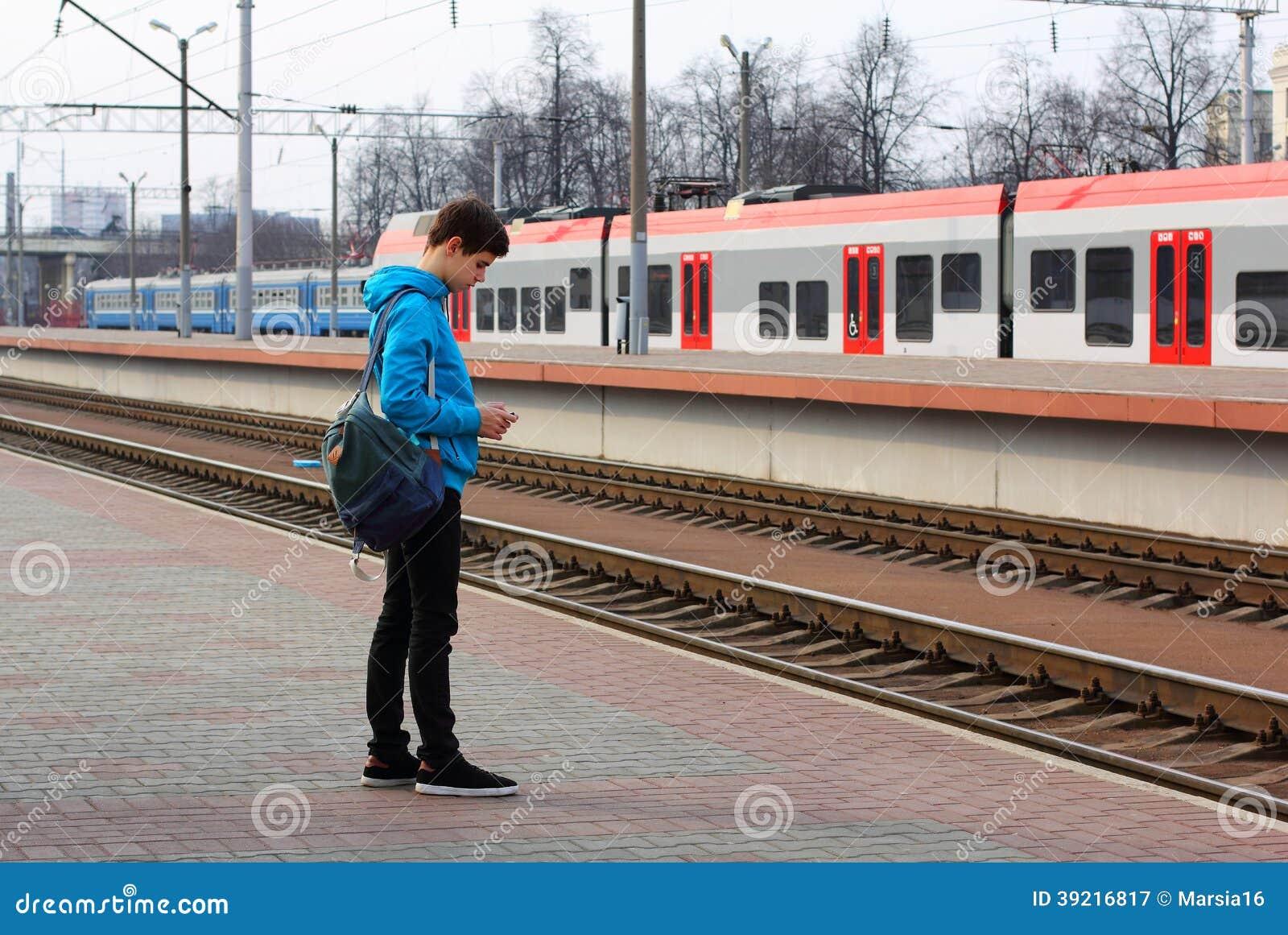 Viajero del adolescente