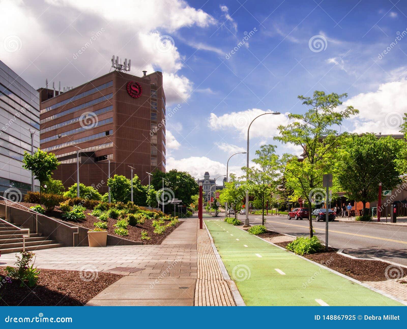 Viale dell università, Siracusa, New York