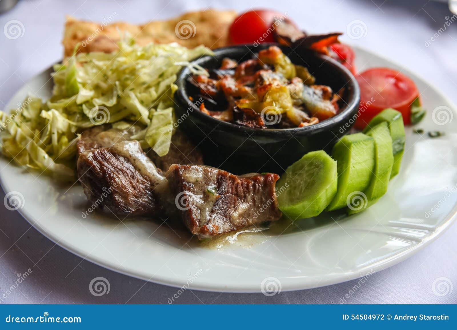 Viande dans un pot