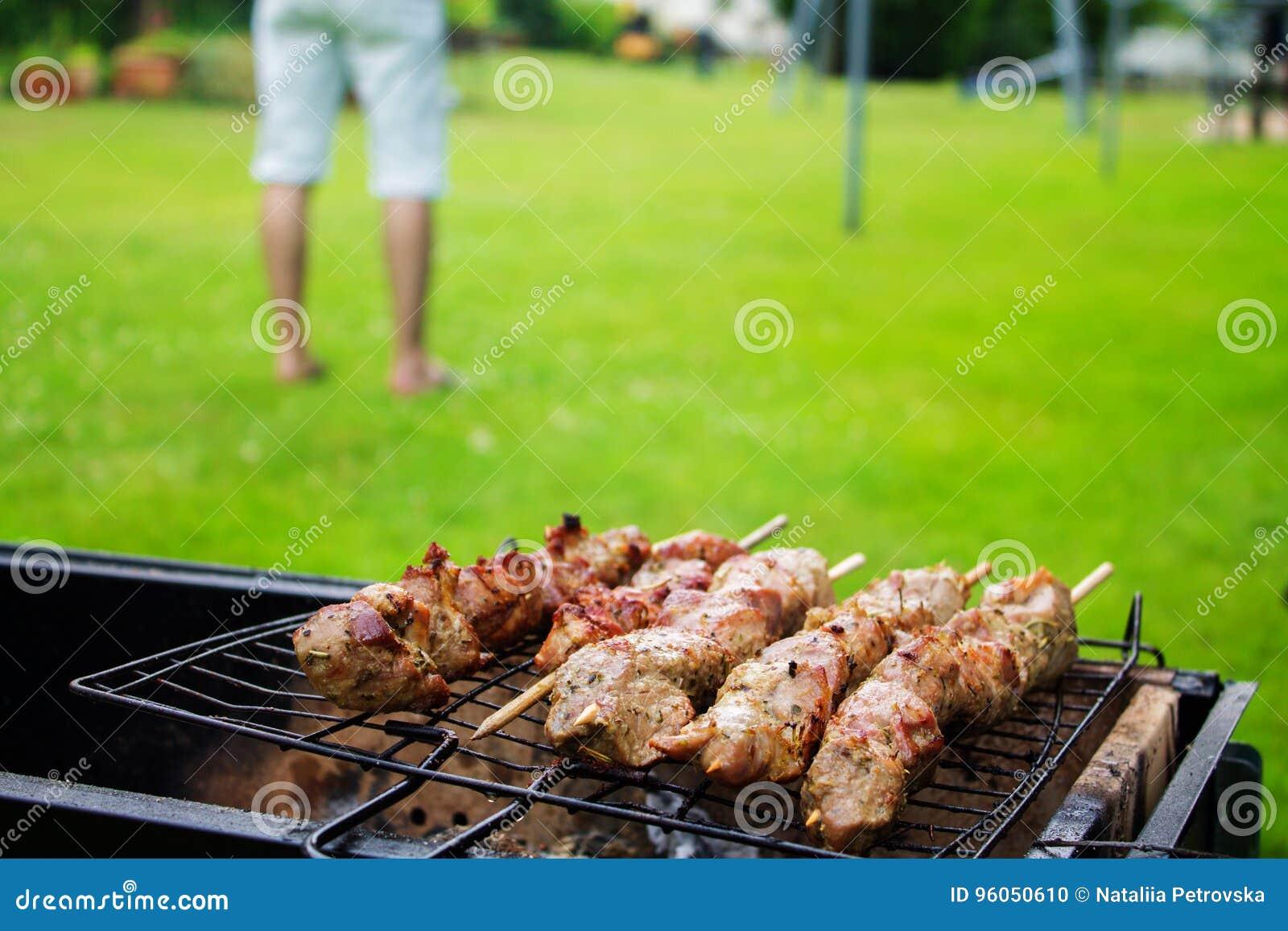 Viande de kebab de Shish