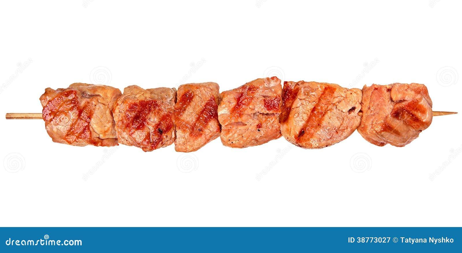 Viande grillée de poulet