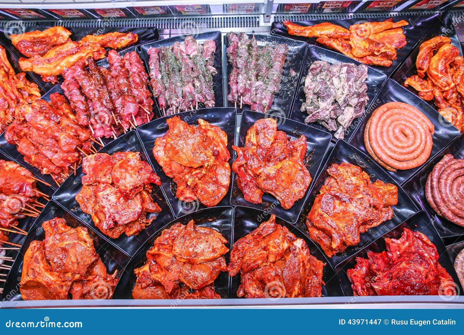 Viande pour le barbecue image stock image du saucisses for Quelle viande pour un barbecue
